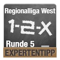 Regionalliga West 2018/2019: Expertentipp Runde 5