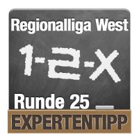 Regionalliga West 2017/2018: Expertentipp Runde 25