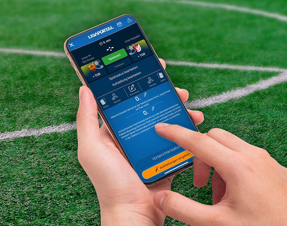 Ligaportal Live-Ticker App für Android
