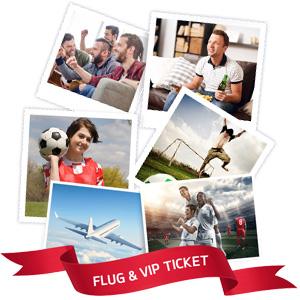 Fanfoto hochladen und exklusive VIP-Tickets für die Euro 2016 gewinnen