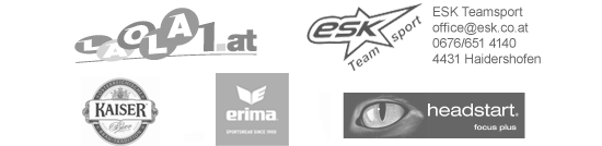 laola1.at | erima | esk Teamsport | Energie AG OÖ | headstart focus plus