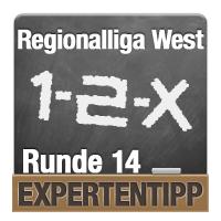 Regionalliga West 2018/2019: Expertentipp Runde 14