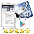 Ligaportal Live-Ticker App für Android im Google Play Store
