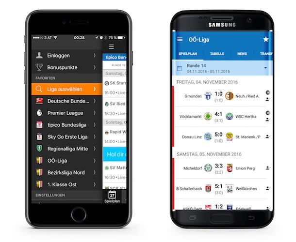Ligaportal App