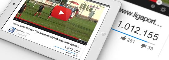 Über 1 Million Views: Misslungener Elfmeter-Trick wird zum Youtube-Hit!