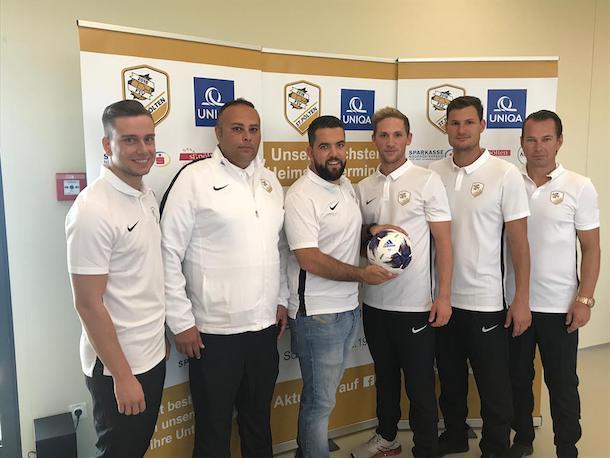 Neuer Futsal Verein FSV UNIQUA St. Pölten