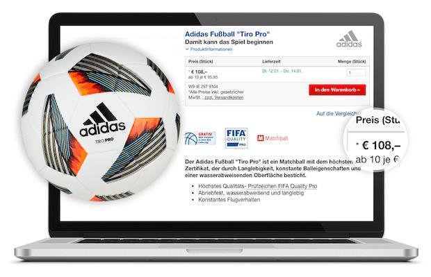 Ligaportal schenkt dir einen Adidas Ball