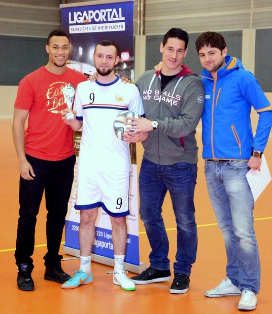 Bester Torschütze des Turniers wurde Alban Feta