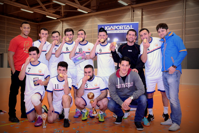Eat the Ball Ligaportal Hallencup 2014/2015