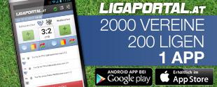 Die kostenlose Fußball App für iPhone und Android