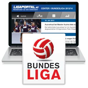 Österreichische Fußball-Bundesliga auf ligaportal.at