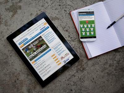 Schon jeder Zweite ruft die aktuellen Fußball-Nachrichten über sein Smartphone ab, dazu kommt noch die ständig steigende Anzahl an App-Nutzer.