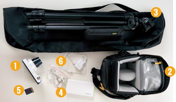 Lieferumfang des Ligaportal Kamera Sets