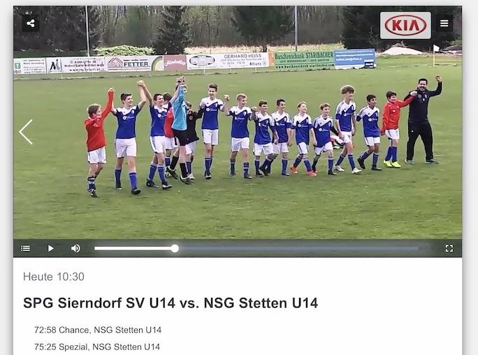 Fußball-Nachwuchs Videos auf Ligaportal TV