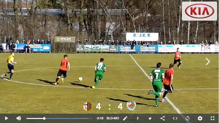 Mit dem Smartphone gefilmt: Neuhofen/Ried - FC Wels