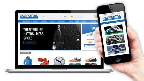 Ligaportal Fußball Webshop