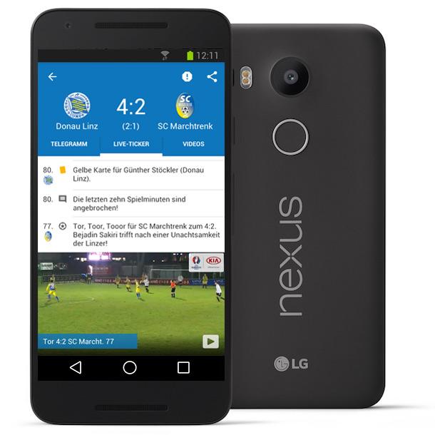 2. Preis: 3x LG Nexus 5X