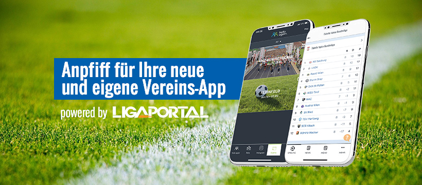 Vereins-App powere by Ligaportal