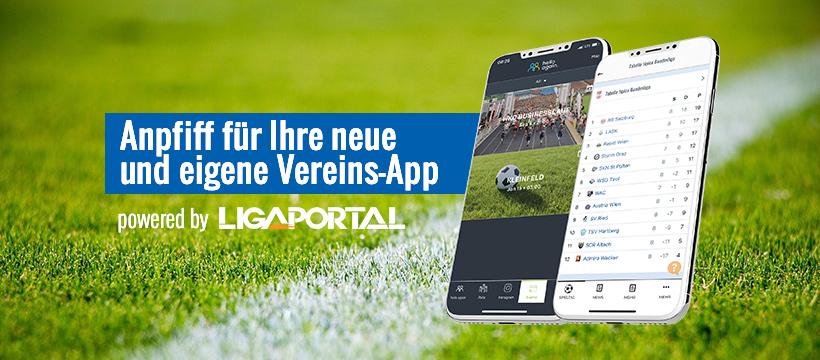 Vereins-App powere by Ligaportal