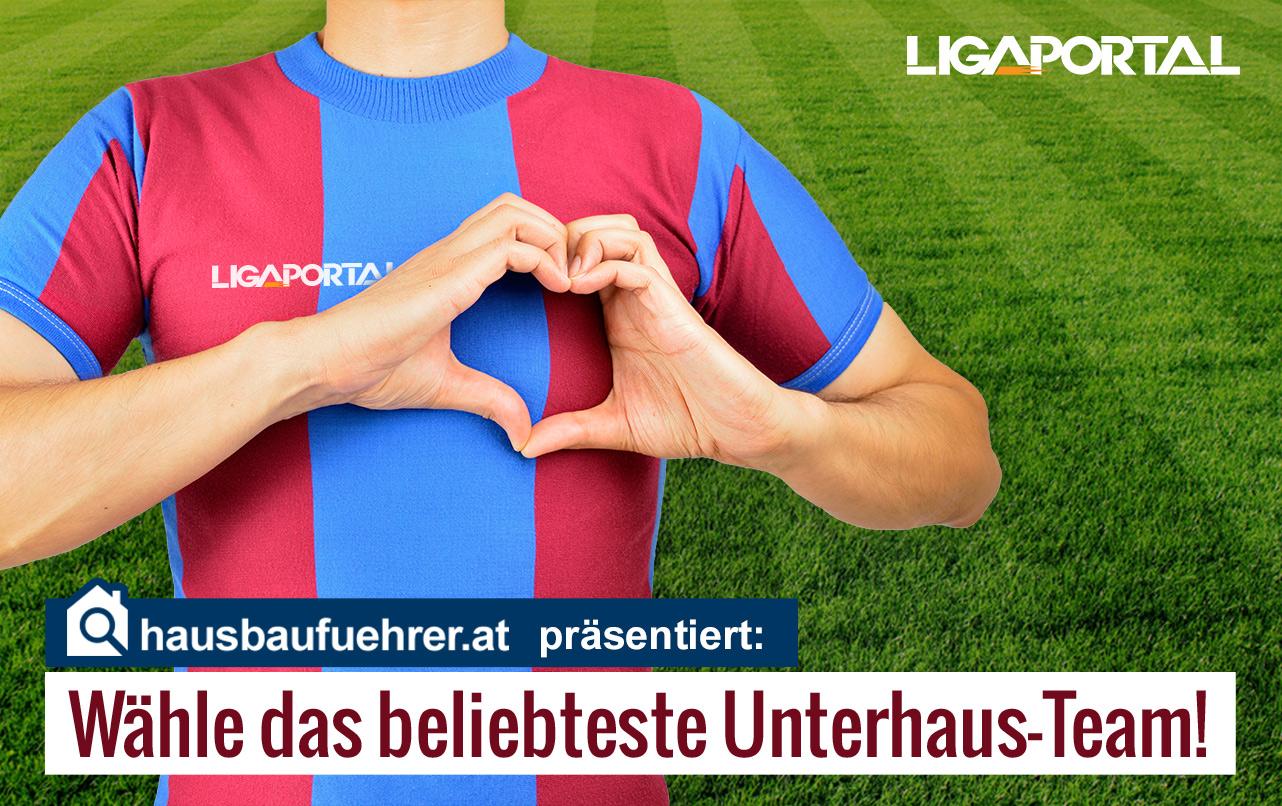 Wähle das beliebtestes Unterhaus-Team Österreichs!