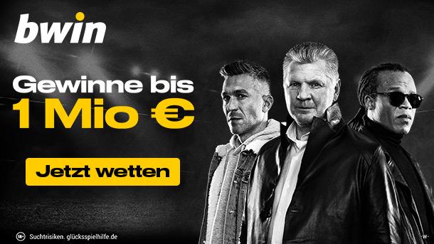 bwin feiert die Rückkehr der Top-Ligen mit einem unglaublichen 1.000.000 € Preispool!