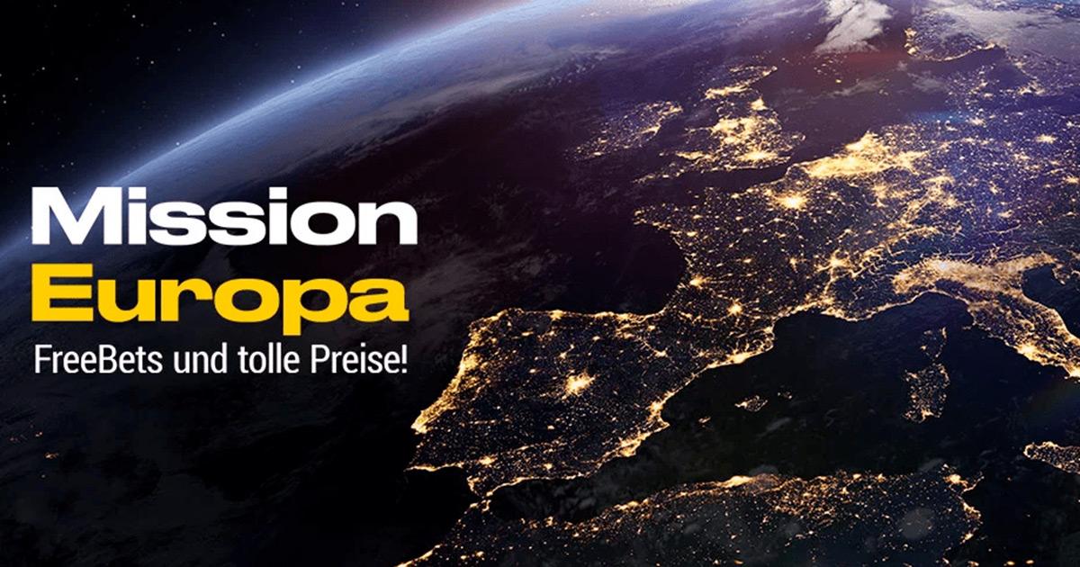 Mission Europa - Freebets und tolle Preise bei bwin