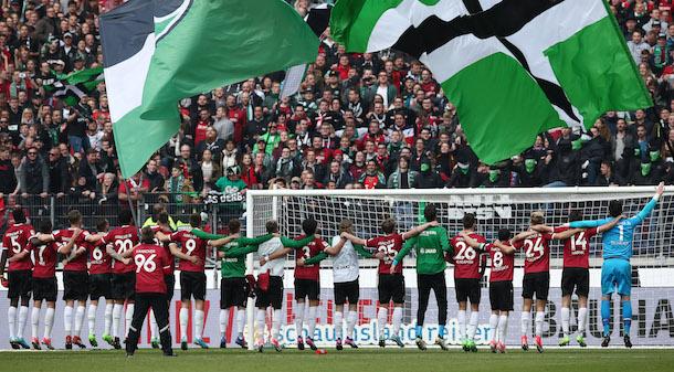 Hannover 96 hat den Aufstieg geschafft