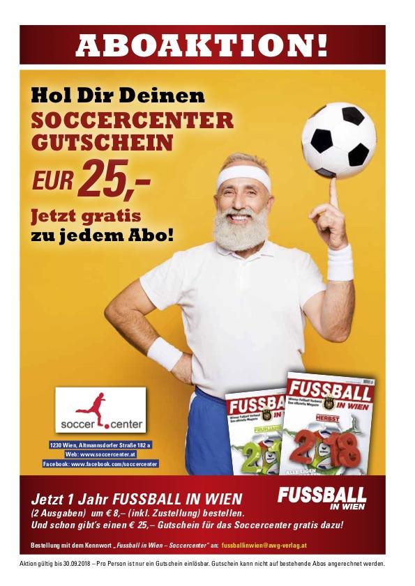 Abo Fußball in Wien