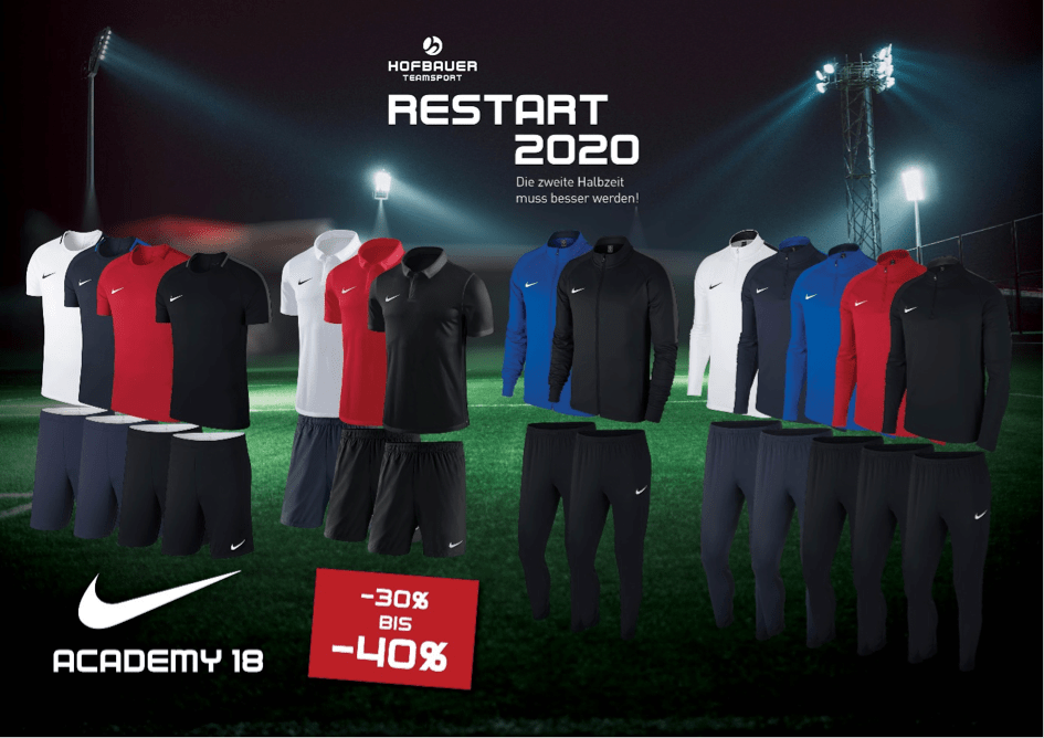 Restart 2020  - Nike Academy 18