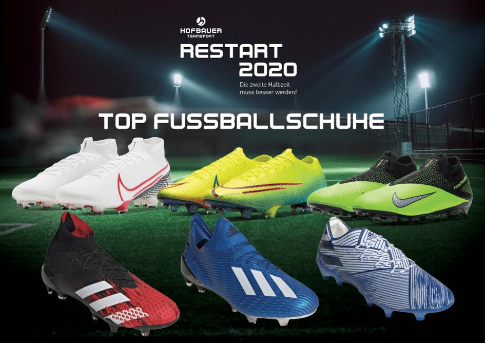 Top Fußballschuhe für den Restart 2020