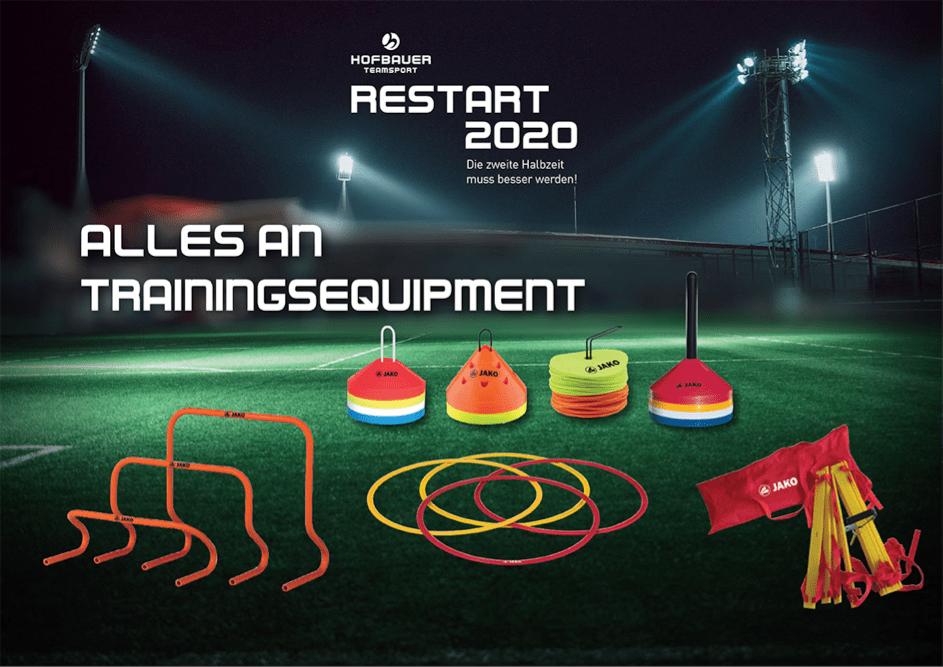 Trainingsequipment für den #Restart2020