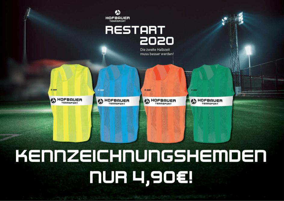 Markierungshemden für den #Restart2020
