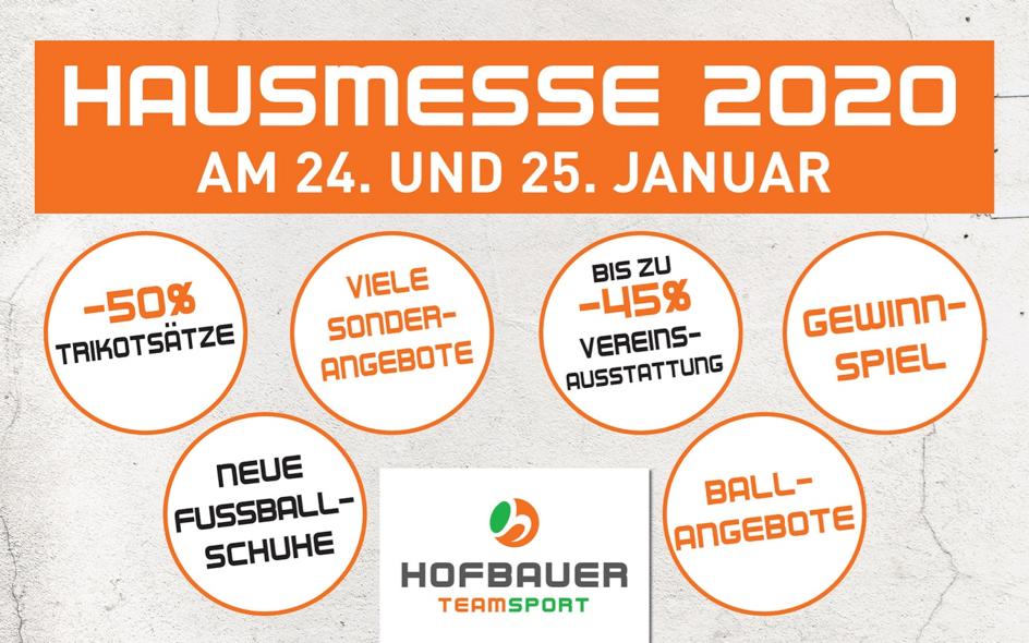 Hausmesse 2020 bei Hofbauer
