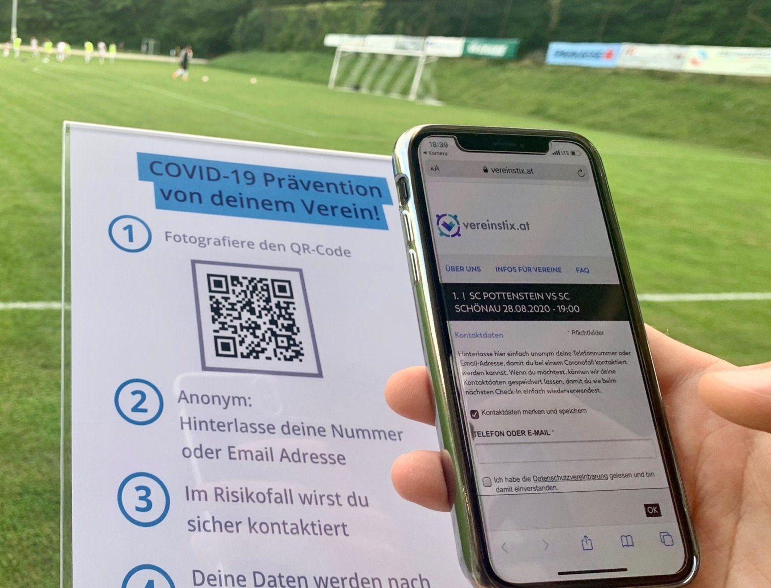 Kostenloses System für Contact Tracing - auch Online-Ticketverkauf möglich!