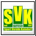 Team - SV Kaindorf an der Sulm
